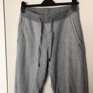 Gray lululemon sweatpants